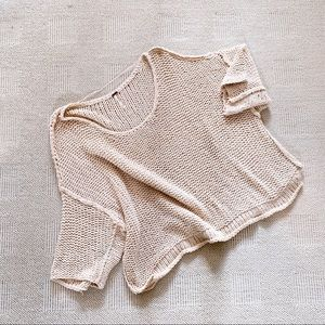 Free People Halo Dolman Sleeve Sweater M